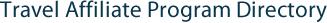 Travel Affiliate Program Directory